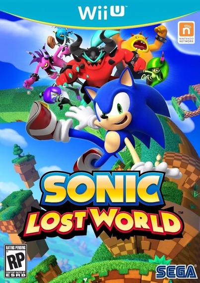 Sonic Lost World - Digital Wii U