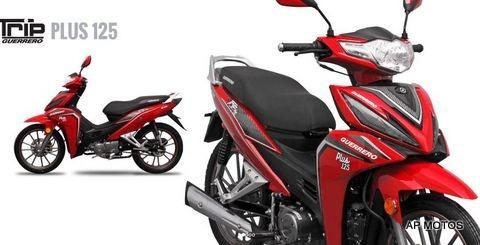 Guerrero Trip 125 Plus 2021 0km Smash X Honda Wave Ap Motos