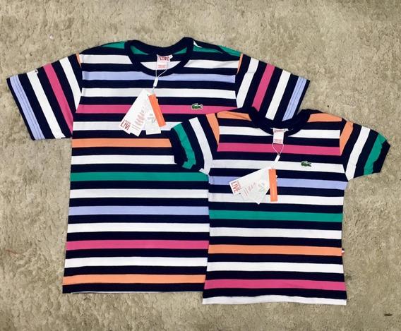 Kit Casal - 2 Camisetas Lacoste