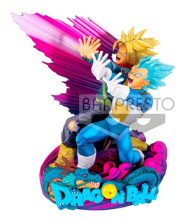 Dragon Ball Banpresto Master Stars Diorama 2 Vegeta Y Trunks