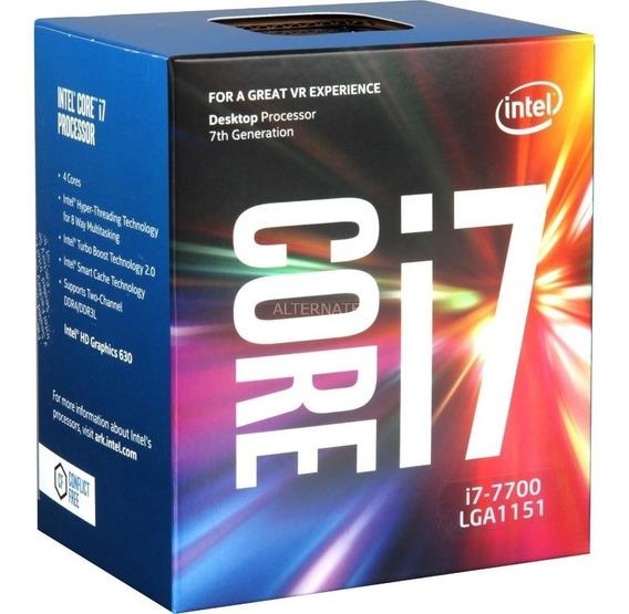 Processador Intel I7 7700 1151 (envio A Partir De 30/03/20)