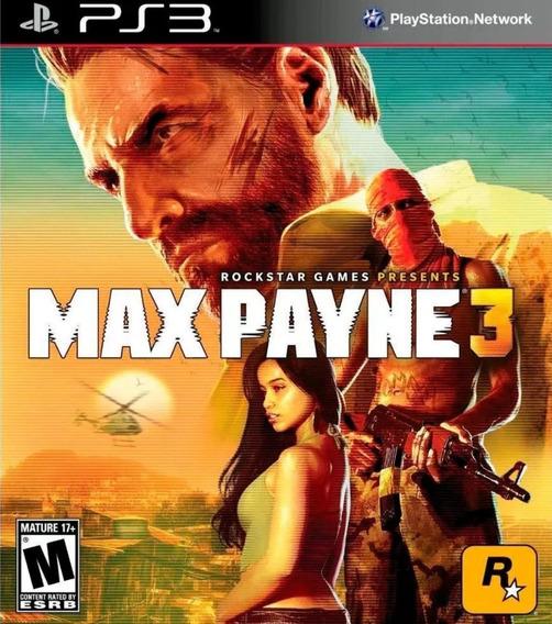 Max Payne 3 Mídia Física Original