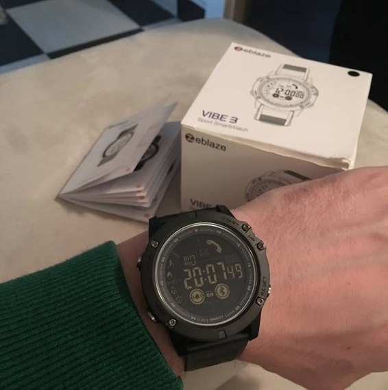 Relogio Masculino Original Zeblaze Vibe3 Smatwatch Bluetooth