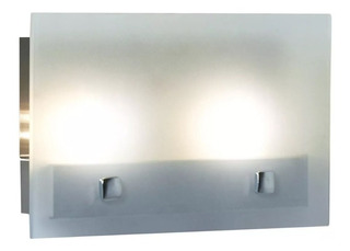 Aplique Vidrio Sevilla 2 Luces Interior G9 220v Decorativa