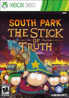 South Park The Stick Of Truth Xbox 360 Frete R$ 10,00