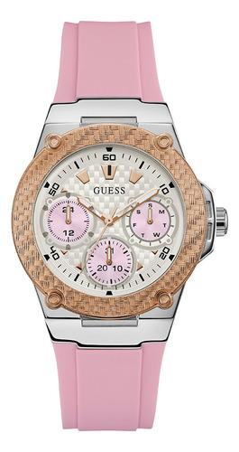 Reloj Para Dama Guess Zena W1094l4 Rosa