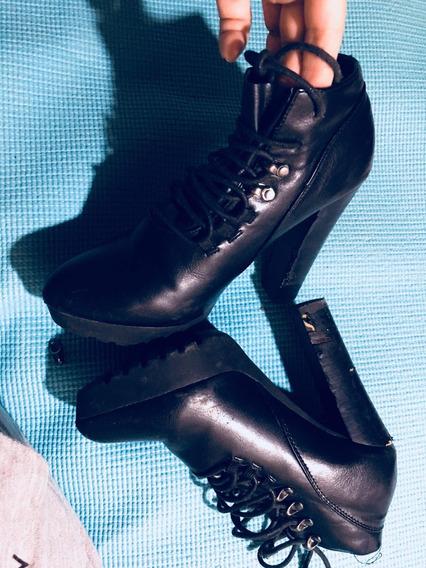 Zapatos Dama. Botines Lob Negros