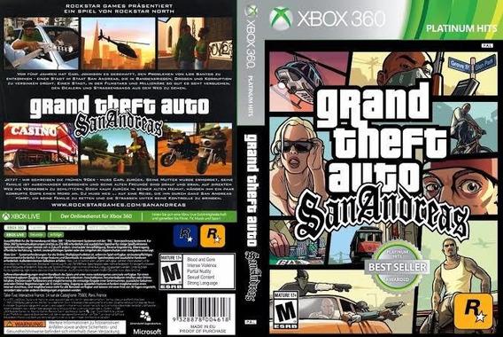 Gta San Andreas Xbox 360 E One (original)