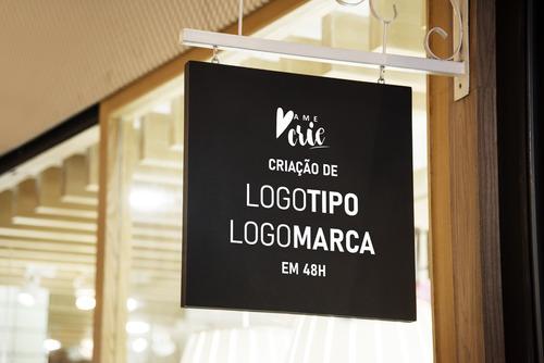 Imagem 1 de 1 de Criação De Logotipo/logomarca