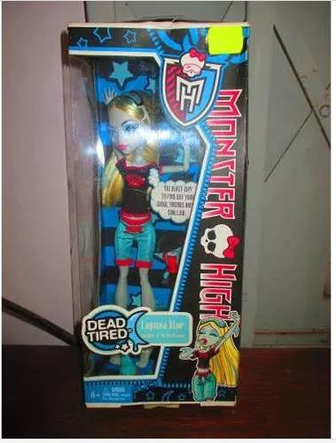 Monster High Dead Tired Lagoona Blue Importado De Usa