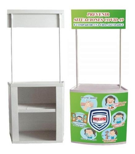Pvc Demostand Stand Portatil Modulo Publicitario Peque