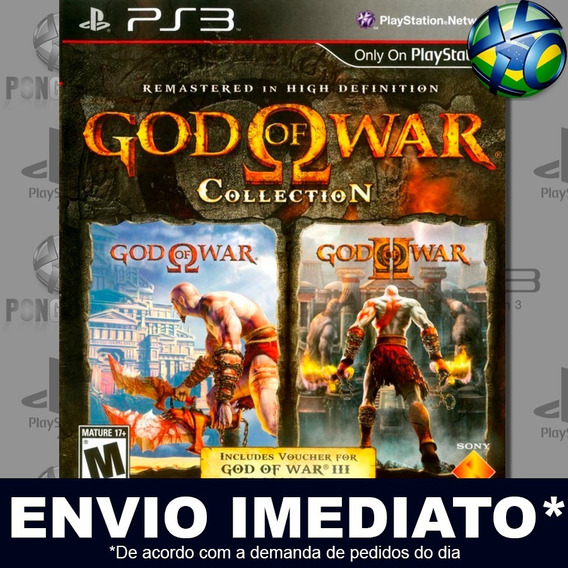 God Of War Collection Ps3 Psn Jogo Promoção Pronta Entrega