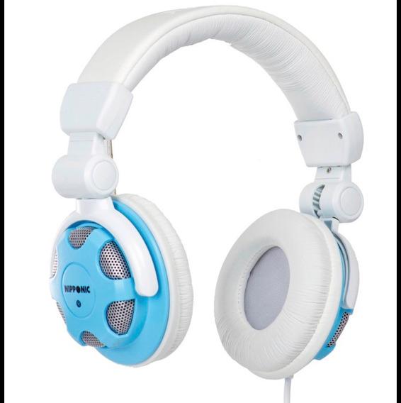 Headphone Nipponic Branco/azul