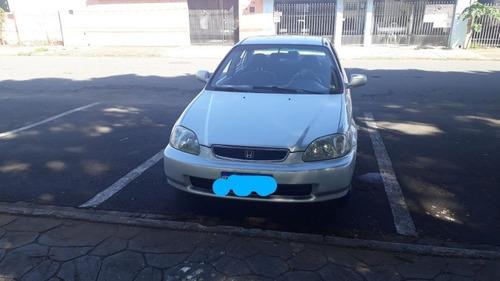 Imagem 1 de 7 de Honda Civic 1998 1.6 Lx Aut. 4p
