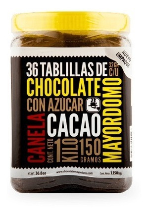 Chocolate Mayordomo 1.150 Gramos