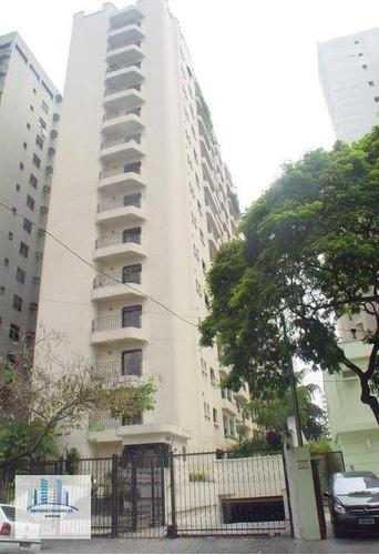 Imagem 1 de 6 de Apartamento Com 4 Dormitórios À Venda, 180 M² Por R$ 1.485.000,00 - Moema - São Paulo/sp - Ap3768