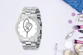 Relógio De Pulso Personalizado Religião Rosario - Cod.1094