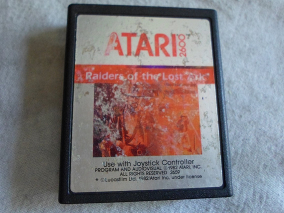 Raiders Of The Lost Ark Para Atari 2600 & Similares