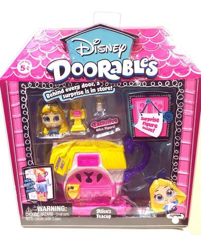 Disney Doorables Super Playset - De Alicia En Wonderland
