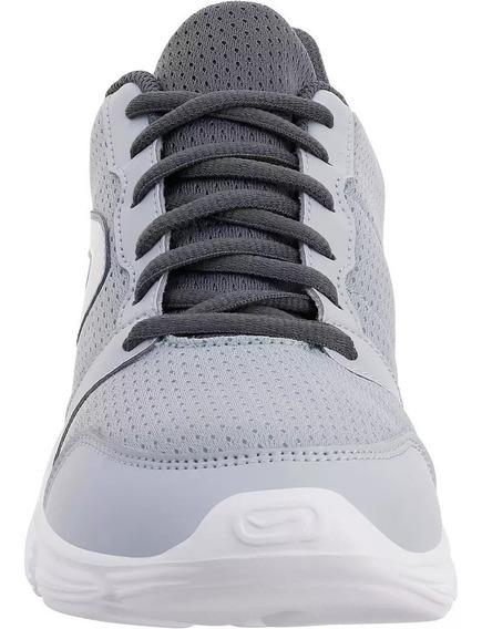 Zapatillas Jogging Mujer Run One Gris
