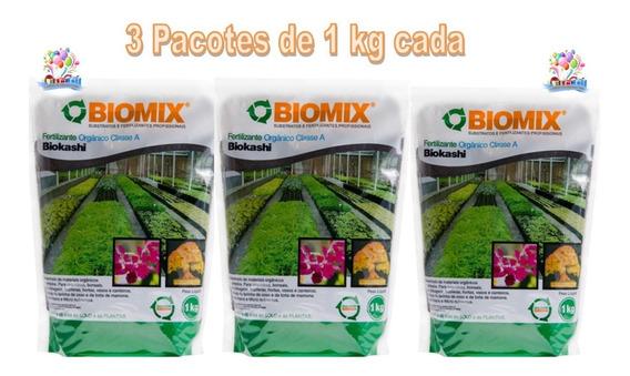 Fertilizante Orgânico Biokashi 3 Kg