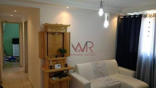 Imagem 1 de 15 de Apartamento À Venda 2 Dormitórios Aricanduva - Ap0539