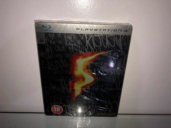 Resident Evil 5 Metal Playstation 3 Colecionador