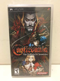 Castlevania The Dracula X Chronicles Sony Psp Novo Lacrado