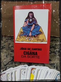 Cartas Baralho Taro Da Cigana Da Sorte - 36 Cartas