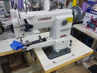 Consew Cw2628 Máquina De Coser Trensilladora Cuero Completa