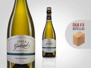 Champagne Espumante Jorge Rubio Finca Gabriel Dulce Caja X6