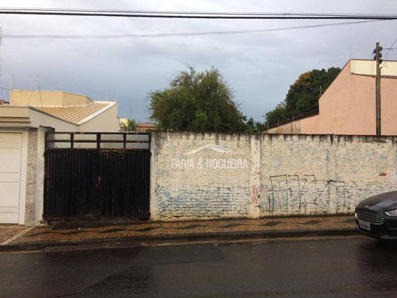 Terreno Comercial Para Locação, Centro, Rio Claro. - Te0079