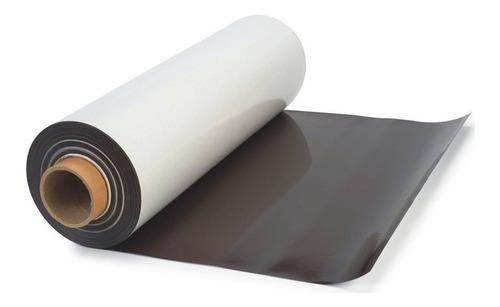 Imagen 1 de 5 de Iman Plancha Autoadhesivo 31 Cm X 1 Mt Magnetico Adhesivo Para Souvenir Y Publicidad