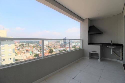 Imagem 1 de 30 de Residencial Prime: Apartamento Com 3 Dormitórios (1 Suíte), Varanda Gourmet, À Venda, 77 M² Por R$ 450.000 - Vila Bocaina - Mauá/sp - Ap1142