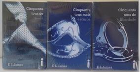 Kit 3 Livros 50 Tons Cinza, Liberdade, Mais Escuro - Novos