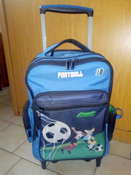 Mochila Con Carro Ls&d Futbol