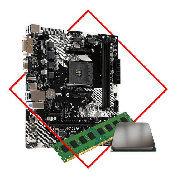 Actualización Combo Amd Mother + Ryzen 5 2600 + 16gb Ddr4