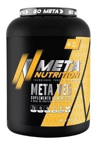 Proteina Soya Meta Nutrition Meta Veg Vainilla 5 Lb 2.26kg