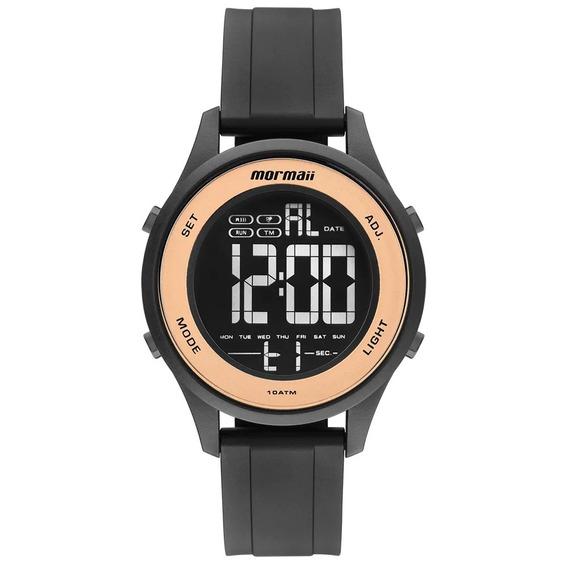 Relógio Digital Mormaii Feminino Wave Preto Mo6200/8j Lindo