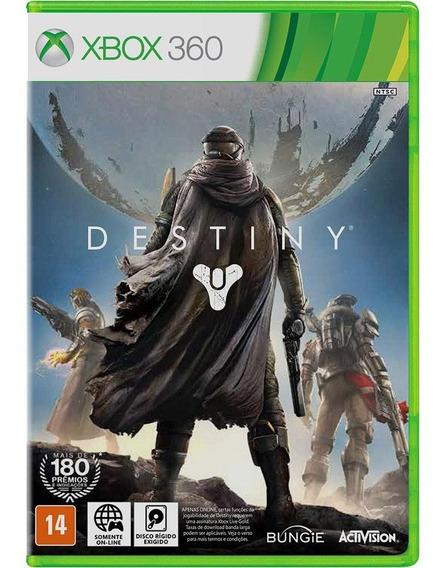 Destiny Xbox 360 Lacrado Original Mídia Física Em Português