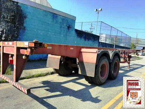 Carreta Porta Container 40 Pés 2 Eixos