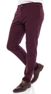Pantalon De Vestir Pato Pampa Borravino