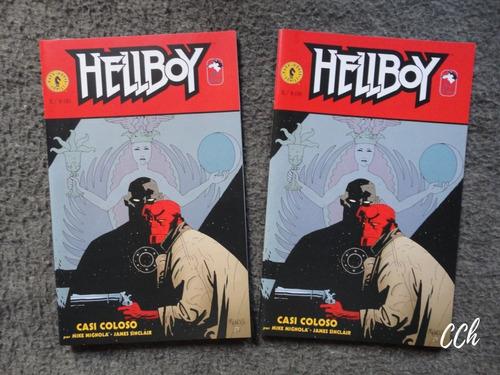 Cómic Hellboy - Casi Coloso Vuk Cch