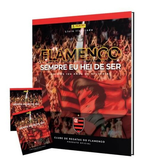 Álbum Capa Dura Completo Flamengo + 300 Figs.