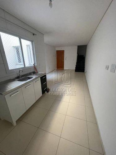 Cobertura Com 2 Dormitórios À Venda, 110 M² Por R$ 370.000,00 - Vila Francisco Matarazzo - Santo André/sp - Co5471