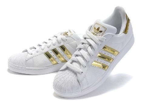 adidas Originals Superstar Blanco/dorado