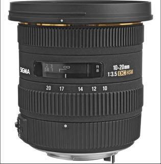 Lente Sigma 10-20 Mm F/4-5.6 Gran Angular Para Nikon