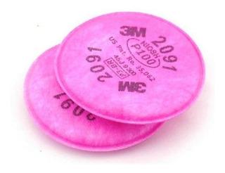 Filtro 3m 2091 P3 Para Particulados 1 Par