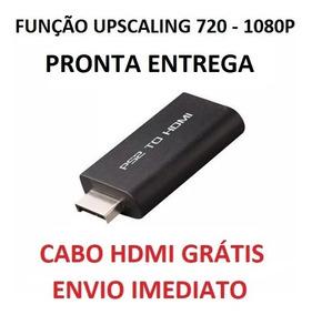 Adaptador Conversor Ps2 P/ Hdmi 720/1080p Cabo Hdmi Grátis