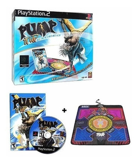 Tapete De Baile + Juego Pump It Up Exceed Playstation 2